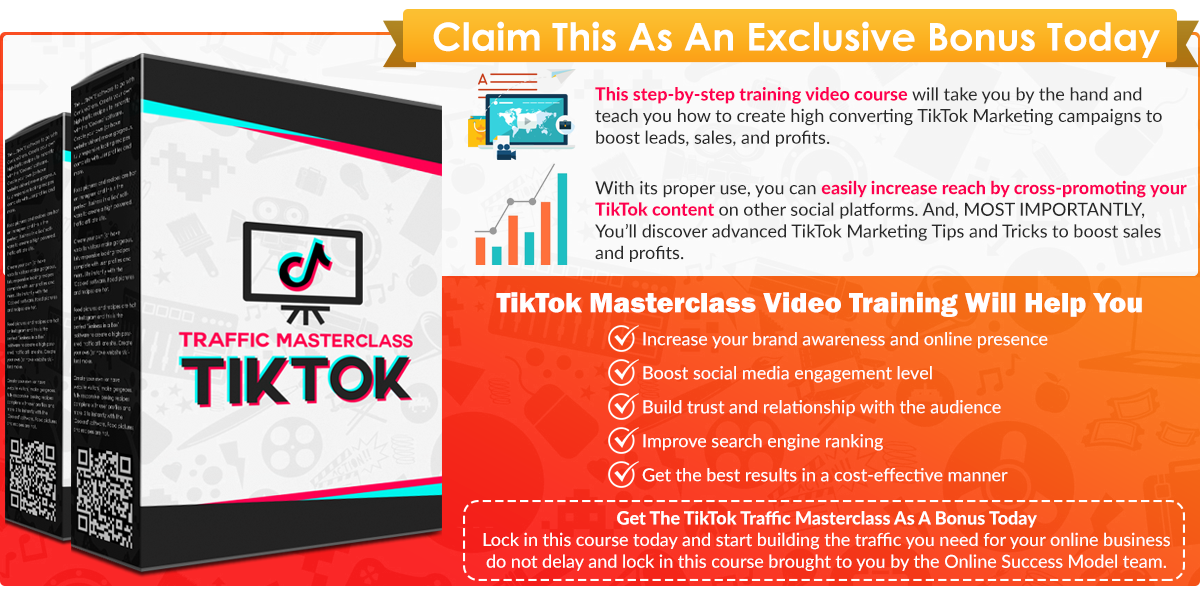 traffic masterclass tiktok infographic